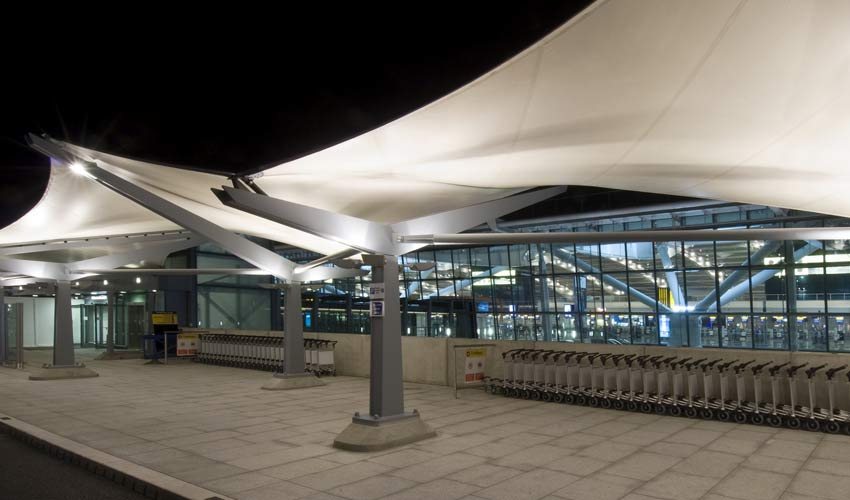 Heathrow Terminal 5 Drop Off Zone by Armadillo Engineering